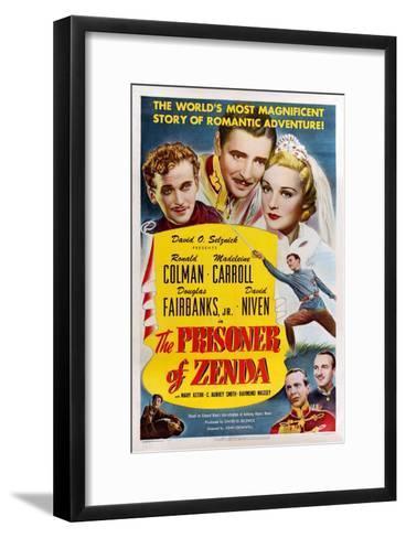 The Prisoner of Zenda, 1937--Framed Art Print