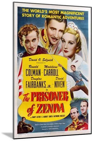 The Prisoner of Zenda, 1937--Mounted Giclee Print