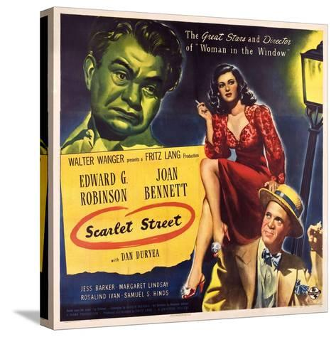 Scarlet Street, 1945--Stretched Canvas Print