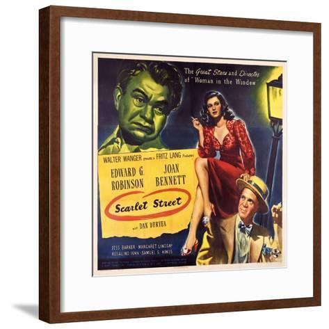 Scarlet Street, 1945--Framed Art Print