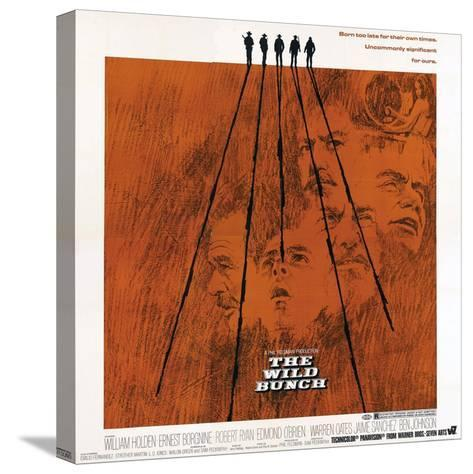 The Wild Bunch, 1969--Stretched Canvas Print