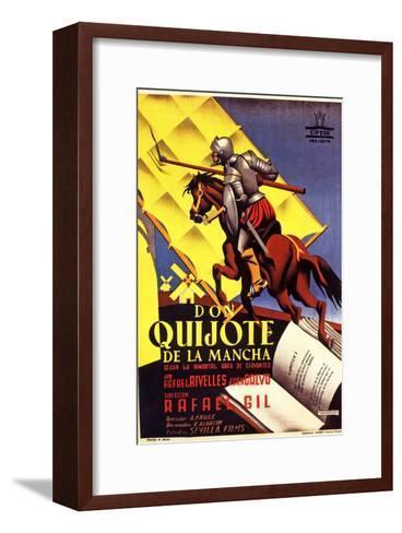 Don Quixote, 1947 (Don Quijote De La Mancha)--Framed Art Print