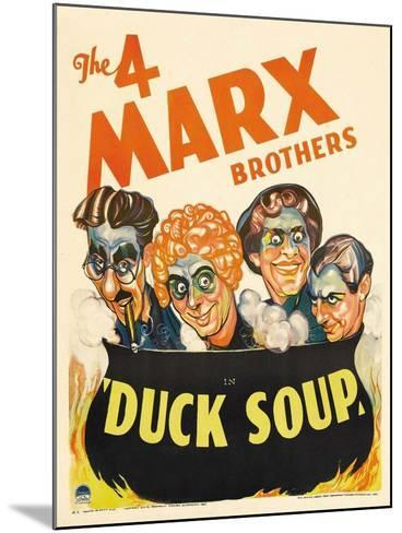 Duck Soup, 1933--Mounted Giclee Print