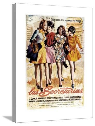 Las Secretarias, 1968--Stretched Canvas Print