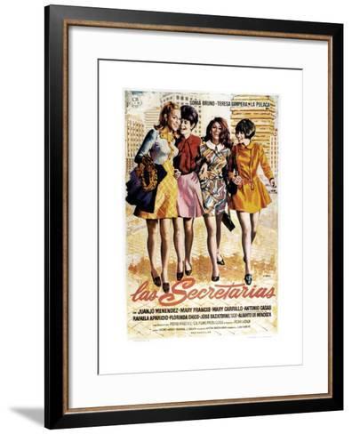 Las Secretarias, 1968--Framed Art Print