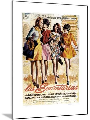 Las Secretarias, 1968--Mounted Giclee Print