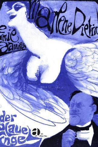 The Blue Angel, 1930 (Der Blaue Engel)--Stretched Canvas Print