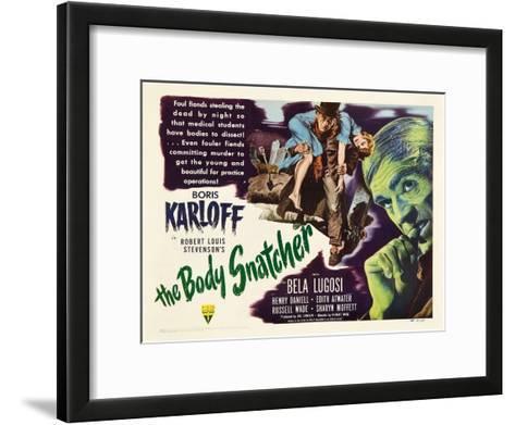 The Body Snatcher, 1945--Framed Art Print