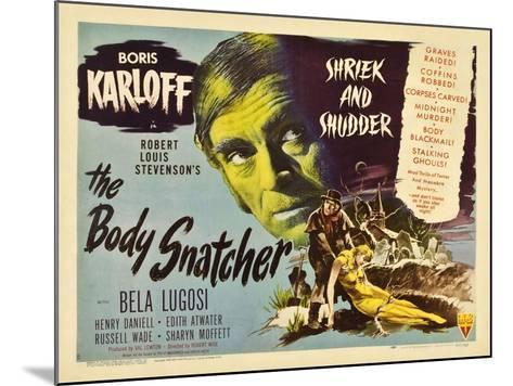 The Body Snatcher, 1945--Mounted Giclee Print