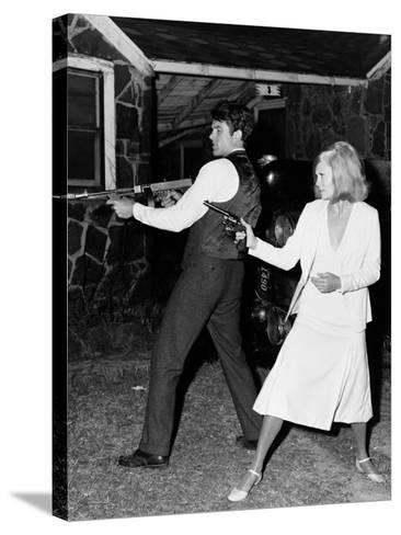 Bonnie and Clyde, 1967--Stretched Canvas Print