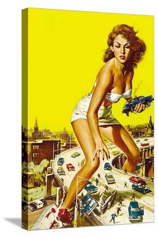 Attack of the 50 Foot Woman, 1958--Stretched Canvas Print