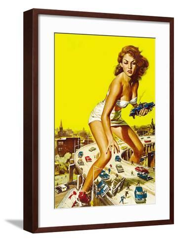 Attack of the 50 Foot Woman, 1958--Framed Art Print