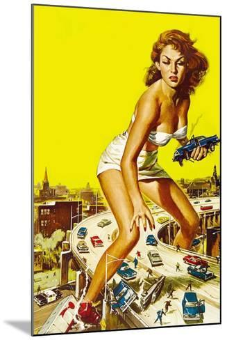 Attack of the 50 Foot Woman, 1958--Mounted Giclee Print