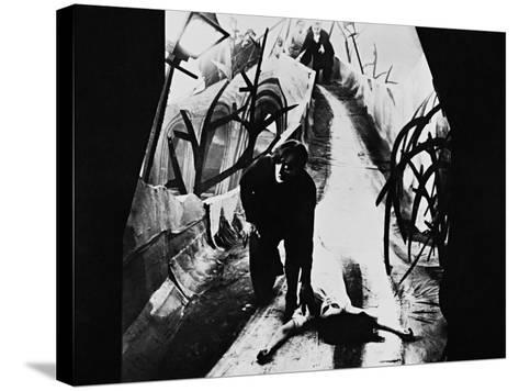 The Cabinet of Dr. Caligari, 1920--Stretched Canvas Print