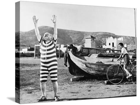 The Rocket from Calabuch 1956--Stretched Canvas Print