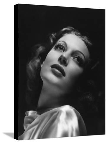 Loretta Young, 1941--Stretched Canvas Print