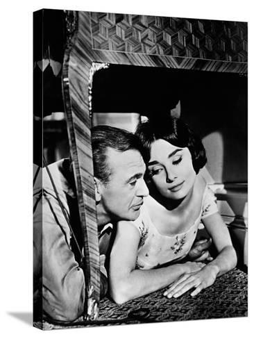 Love in the Afternoon, 1957--Stretched Canvas Print