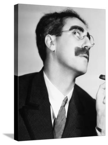 Groucho Marx--Stretched Canvas Print