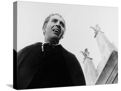 Dracula, Prince of Darkness, 1966--Stretched Canvas Print