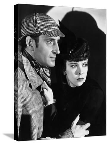 The Adventures of Sherlock Holmes, 1939--Stretched Canvas Print
