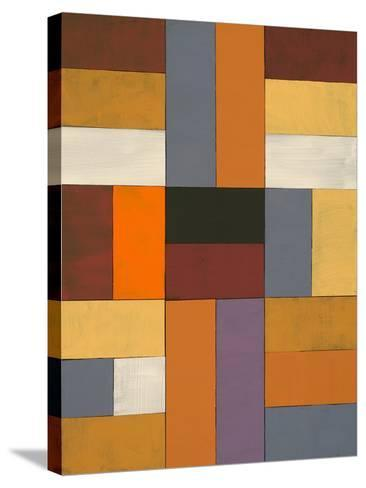 An Abstract Painted Collage-clivewa-Stretched Canvas Print
