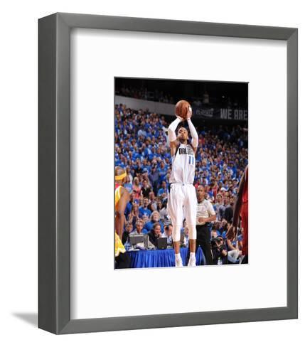Houston Rockets v Dallas Mavericks - Game Four-Bill Baptist-Framed Art Print