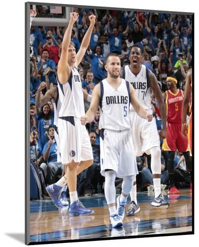Houston Rockets v Dallas Mavericks - Game Four-Danny Bollinger-Mounted Photo