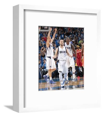 Houston Rockets v Dallas Mavericks - Game Four-Danny Bollinger-Framed Art Print