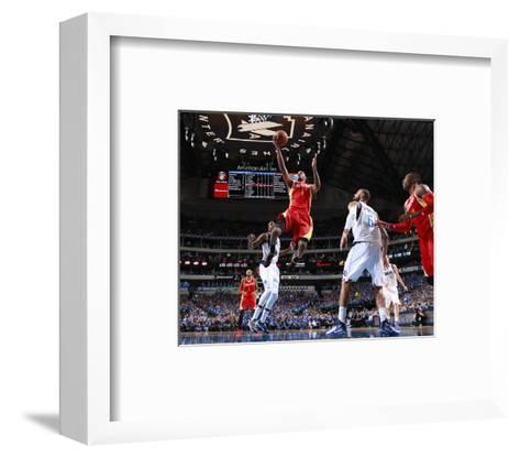 Houston Rockets v Dallas Mavericks - Game Three-Danny Bollinger-Framed Art Print
