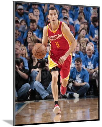 Houston Rockets v Dallas Mavericks - Game Three-Glenn James-Mounted Photo