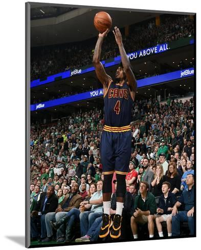 Cleveland Cavaliers v Boston Celtics - Game Four-Brian Babineau-Mounted Photo