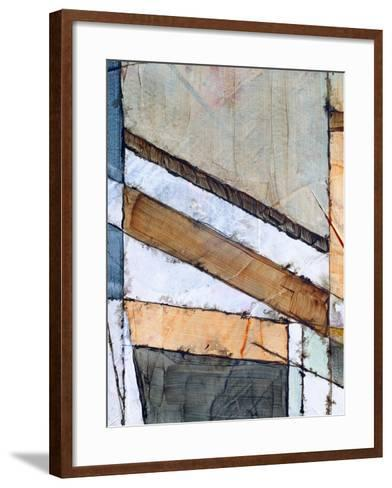 A Detail from an Abstract Watercolor Painting-clivewa-Framed Art Print