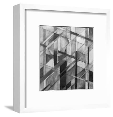 A Charcoal Study for an Abstract Painting-clivewa-Framed Art Print