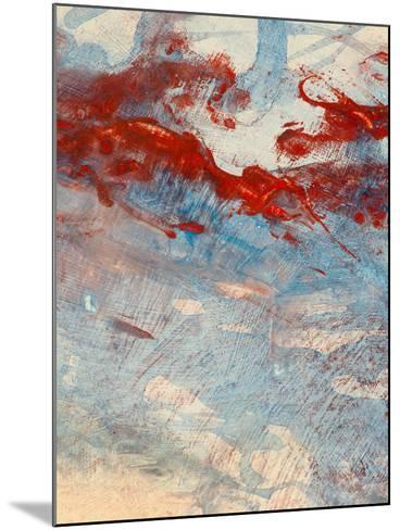 An Abstract Painting-clivewa-Mounted Art Print