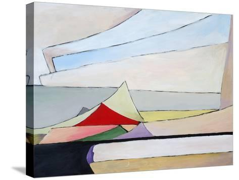 A Painting of a Pile of Papers-clivewa-Stretched Canvas Print
