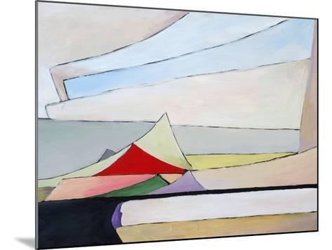 A Painting of a Pile of Papers-clivewa-Mounted Art Print