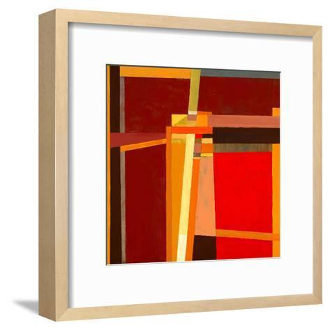 A Modernist Abstract Painting-clivewa-Framed Art Print