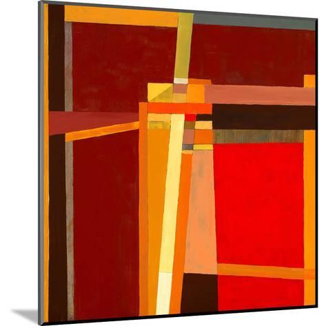 A Modernist Abstract Painting-clivewa-Mounted Art Print