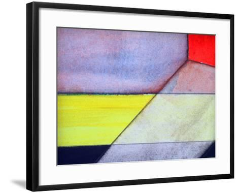 An Abstract Watercolor Painted Background-clivewa-Framed Art Print