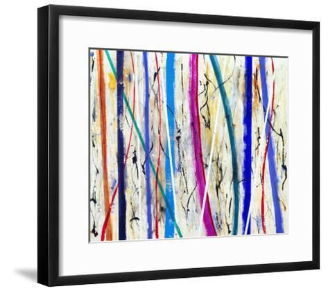 An Abstract Pattern-clivewa-Framed Art Print
