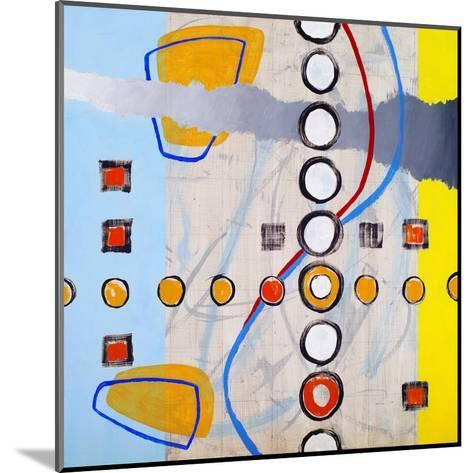 An Abstract Painting, Based on a Grid-clivewa-Mounted Art Print