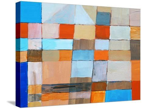 A Detail from an Abstract Painting-clivewa-Stretched Canvas Print