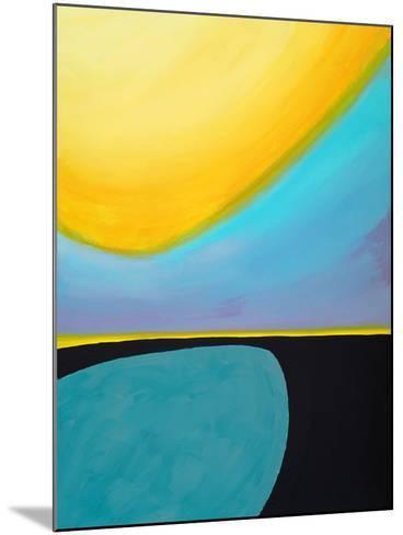 An Abstract Painting-clivewa-Mounted Art Print
