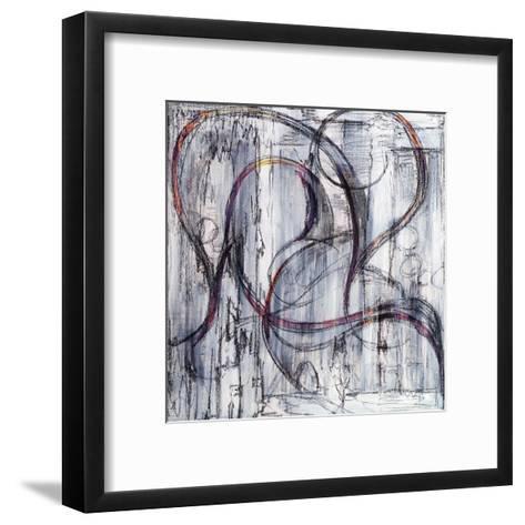 An Abstract Drawing-clivewa-Framed Art Print