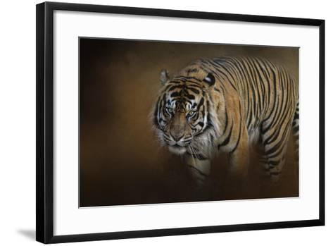 Bengal Stare-Jai Johnson-Framed Art Print