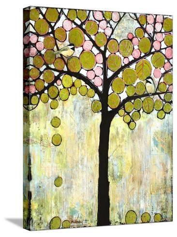 Chickadee Tree 1-Blenda Tyvoll-Stretched Canvas Print