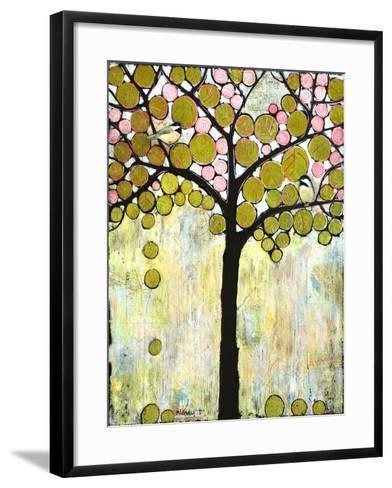 Chickadee Tree 1-Blenda Tyvoll-Framed Art Print