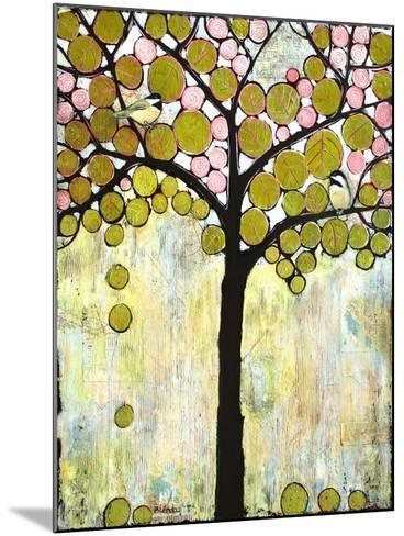 Chickadee Tree 1-Blenda Tyvoll-Mounted Giclee Print
