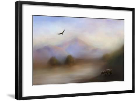 Morning at the Mountain-Jai Johnson-Framed Art Print