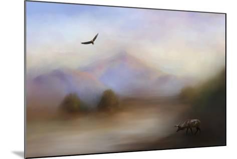 Morning at the Mountain-Jai Johnson-Mounted Giclee Print
